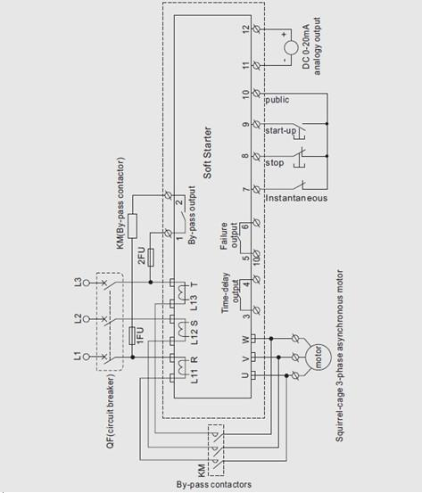 abb soft start wiring diagram